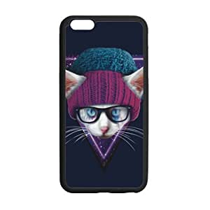 """super shining day Best Galaxy Hipster Cat iPhone 6 Plus 5.5"""" Back Covers With Hard Plastic Material"""