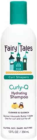 Fairy Tales Curly-Q Daily Kid Hydrating Shampoo - Sulfate & Paraben Free - 12oz