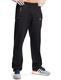 SCR Men's Workout Activewear Pants Athletic Sweatpants Long Inseam Black Grey Blue Navy