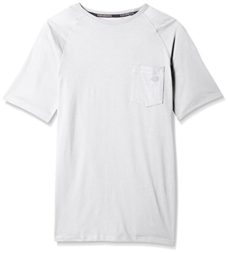 - Dickies Men's Short Sleeve Performance Cooling Tee Big-Tall, White, 3X
