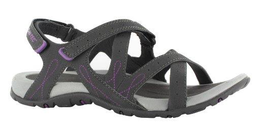 Donna tec Wo's Hi Falls Waimea purple Sandali Grigio gris charcoal BFqXxpaw