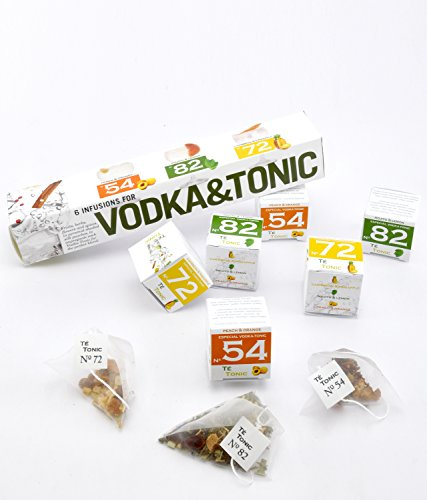 Vodka Tonic Cocktail Gift Set 6 Infusions 3 different flavours