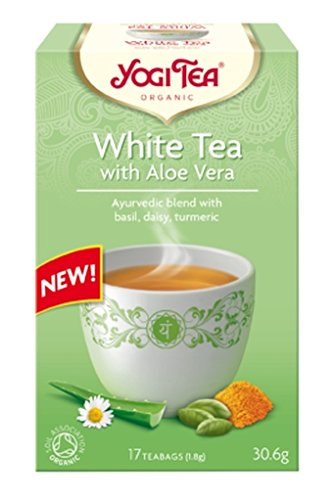 Yogi Tea White Tea Aloe Vera Organic Tea 17 -