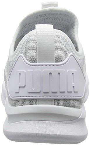 Puma Wn's Blanc White Flash puma Chaussures Ignite Femme Running De Evoknit HqOBHwtfr