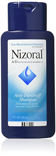 Nizoral AntiDandruff Shampoo, 7-Ounce Bottles (Pack of 2)