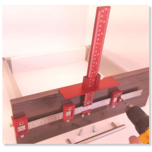 cabinet hardware jig for handles and knobs/guide jig on ...