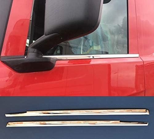 2x Edelstahl Fensterblenden Für Scania S R 2016 2019 Lkw Links Rechts Auto