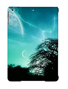 Ascendingnr Top Quality Case Cover For Ipad Air Case With Nice Planets And Trees Appearance