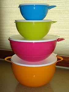 Tupperware Thatsa Bowl Set of 4