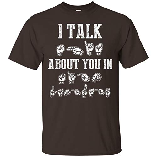 KeyVic I Talk Shit About You in Sign Language T-Shirt -