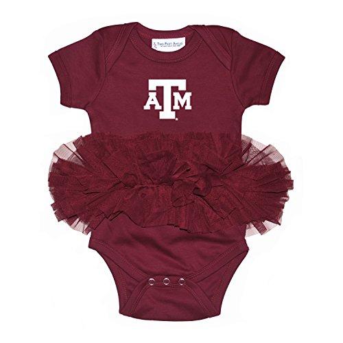 - NCAA Texas A&M Aggies Children Girls Tutu Creeper,6Mo,Maroon