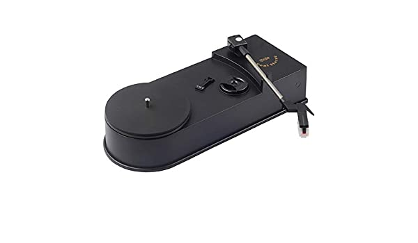 Pudincoco Multifuncional USB Mini Tocadiscos de fonógrafo ...