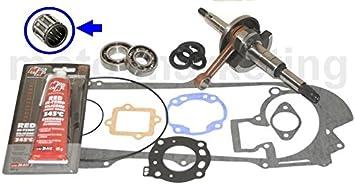 Kurbelwelle Dichtung Motor Komplett Set Für Suzuki Ay 50 Katana A Ditech Spritzgegossener Auto