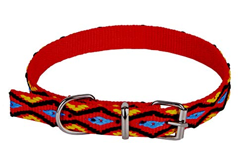 Dingo Winnetou Collar for Dog with Tape