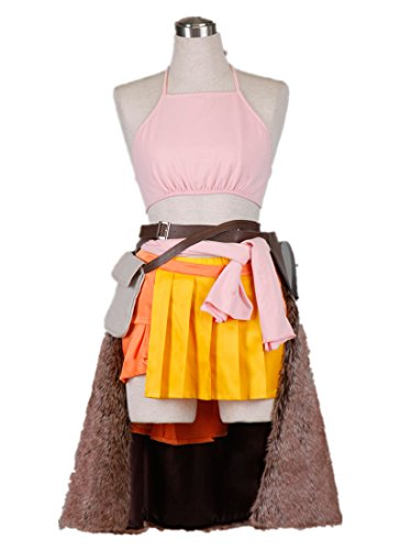 Oerba Dia Vanille Cosplay Costume (SQUARE ENIX Final Fantasy XIII Cosplay Costume-Oerba Dia Vanille 6Pcs Set)