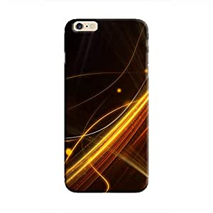 Cover It Up - Golden Lines iPhone 6/6s Hard Case