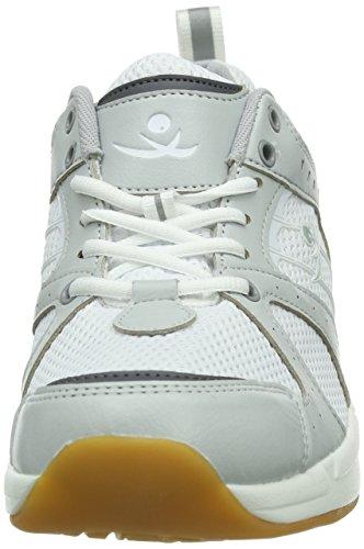 Chung Shi AuBioRiG Comfort Step Tokyo 9102355 - Zapatillas de deporte de tela para hombre Blanco
