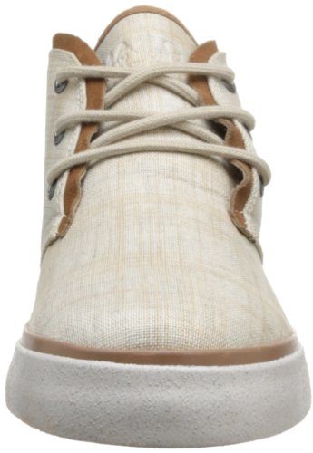 Marc New York Mens Eldridge Mode Sneaker Khaki / Kanel / Vit