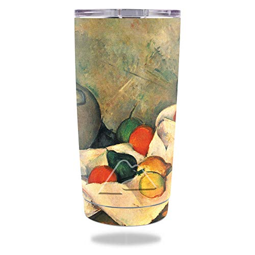 MightySkins Skin Compatible with Ozark Trail 20 oz Tumbler (2016) - Jug and Fruit | Protective, Durable, and Unique Vinyl Decal wrap Cover | Easy to Apply, Remove, and Change Styles | Made in The USA ()