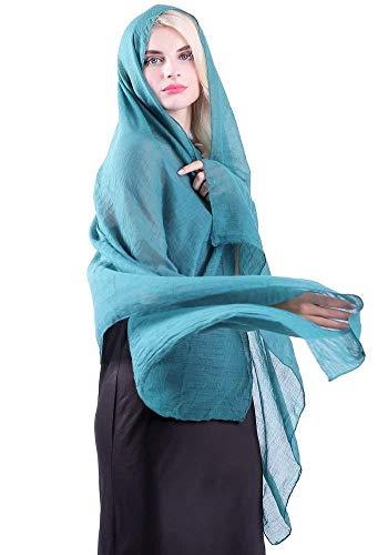 Colori Anatra X Lungo Sciarpa Scialle Cheche Donna Sciarpa Trend Accessorio 60 Top 100cm Stola Pashmina Blu 198 qxzwEZZ6PH