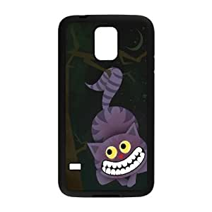 JenneySt Phone CaseAlice and Cheshire Cat Pattern For Samsung Galaxy S5 -CASE-13