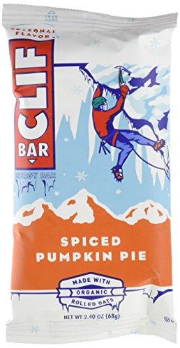 (CLIF BAR - Energy Bar - Spiced Pumpkin Pie - (2.4 Ounce Protein Bar, 12 Count))