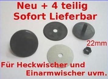 Kappe Zierschraube Blindstopfen Heckwischer Heck Abdeckung Universal 32mm
