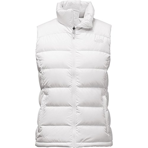North Face Nuptse 2 Vest - Womens (X-Large, TNF White)