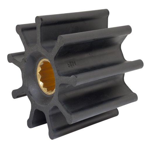 Blade Neoprene Impeller (JABSCO Jabsco Impeller Kit - 9 Blade - Neoprene - 3-¾