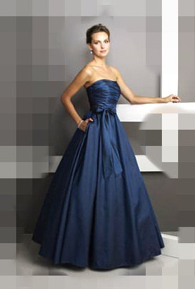 Clearance sale DJ31 Blue Size 20 prom ball gown dress Party Prom Gown Evening Dress