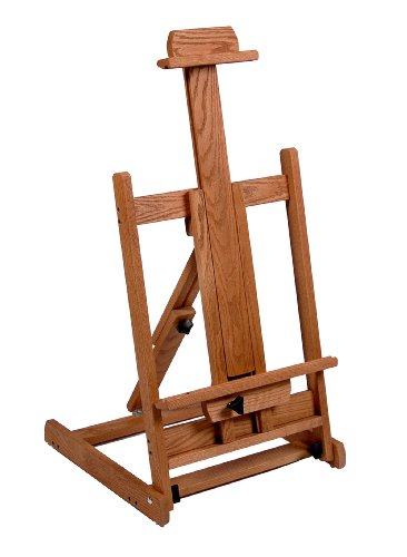 American Easel Solid Oak Table Top Easel-Golden Finish