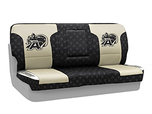 Coverking Rear Solid Bench NCAA Licensed Custom Fit Seat Cover for Select Volvo 245 Models - Neosupreme (U.S. Military - U 245 S