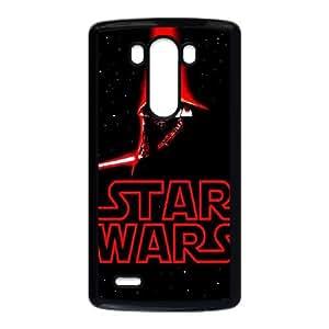 Estrella Guerra Funda LG G3 Funda caja del teléfono celular Negro N0C7XW9R Funda caja del teléfono celular Volver 3D