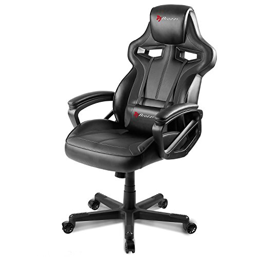 41Czs29pArL - Arozzi-Milano-Enhanced-Gaming-Chair-Black
