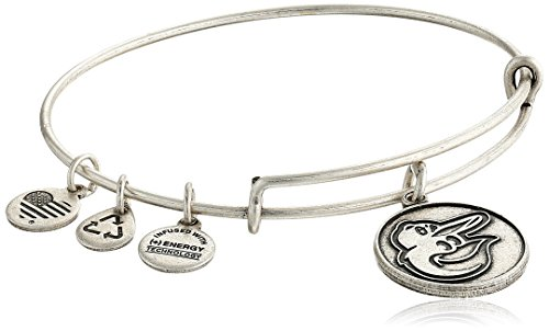 Orioles Charm Baltimore - Alex and Ani Baltimore Orioles Cap Logo Expandable Rafaelian Silver Bangle Bracelet