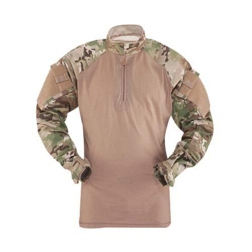 Tactical Response Uniform (TRU) 1/4-ZIP Combat Shirt 50/50 Nylon/Cotton Rip-Stop, 2541004