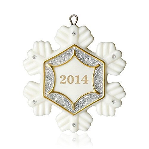 (Hallmark Keepsake Miniature Ornament 2014 Little Snowflake )