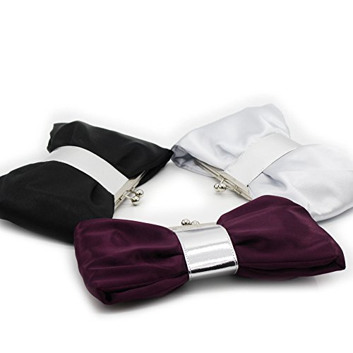 B-JOY - Cartera de mano para mujer morado morado mini Tasche morado