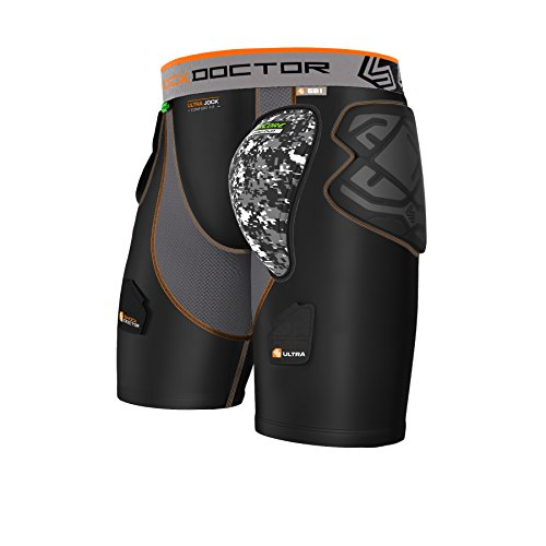 591 Ultra ShockSkin HK Short W/Aircore Hard Cup Small, Black/Grey
