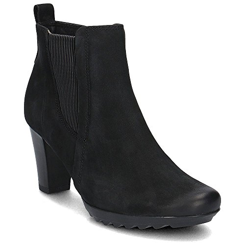 Caprice Arizona Womens Bottines Nubuck Noir VutPpu