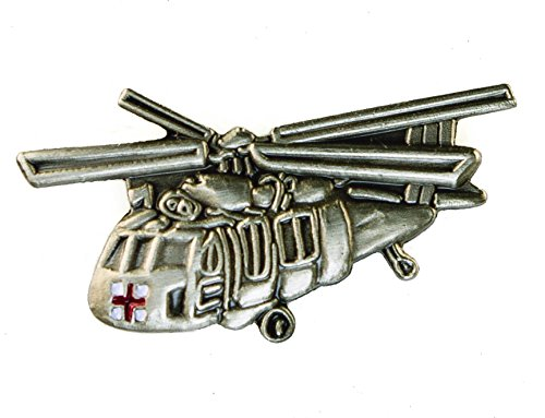 Sikorsky Medevac UH-60 Black Hawk Helio Helicopter Hat or Lapel Pin