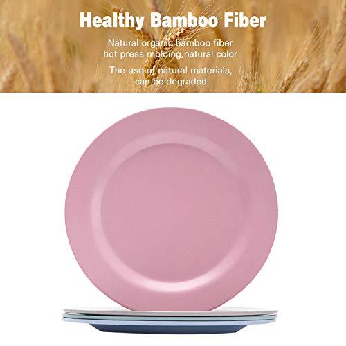 Bamboo Toddler Plates(8