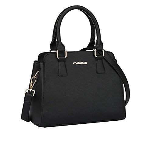 FCZERO HB420031C5 Spring PU Leather Europe Women's Handbag,Square Cross-Section Killer Package