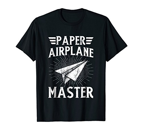 Paper Airplane Master Shirt Funny Classroom Teacher Student]()