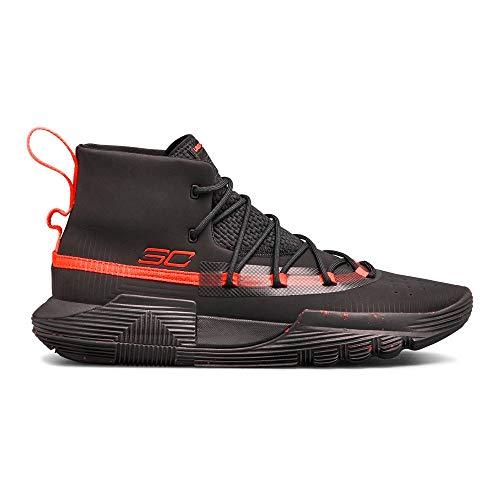 Under Armour Men's SC 3ZER0 II Basketball Shoe, (002)/Black, 12