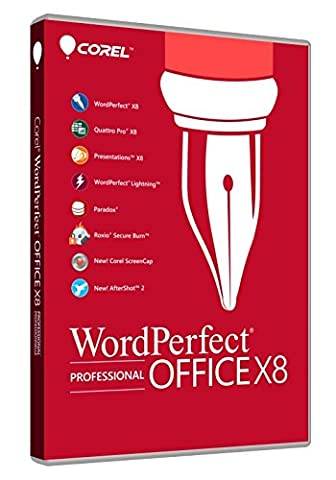Corel WordPerfect Office X8 Pro (Word Perfect Office Suite)