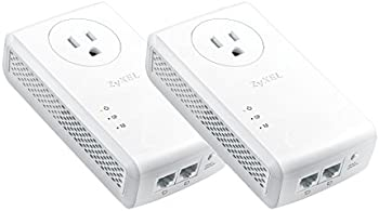 2-Pack ZyXEL HomePlug AV2 MIMO AV2000 Powerline Adapter Kit