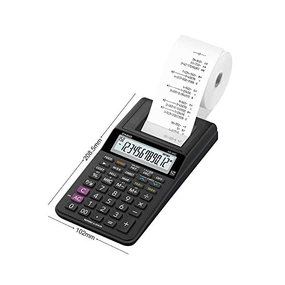 Casio HR-8RC-BK 150 Steps Check & Correct Printing Calculator with Reprint Feature 3