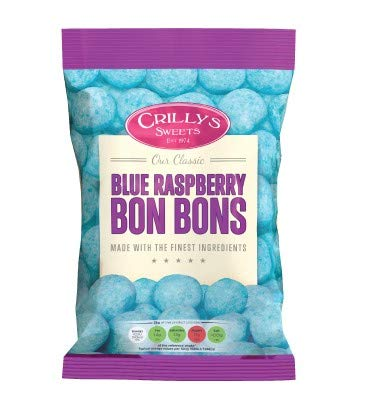 Crillys Blue Raspberry Bon Bons (150g) British Sweets/Candy