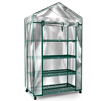 Amazon.com: Home-Complete - Mini invernadero de 4 niveles ...